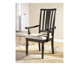 DINING ROOM ARM CHAIR (2/CN)-FORMAL DINING-LOUDEN