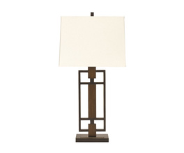 METAL TABLE LAMP (2/CN) OMARIS SIGNATURE