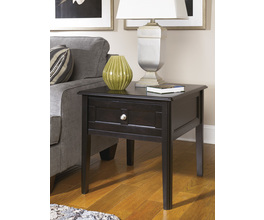 RECTANGULAR END TABLE HENNING SIGNATURE