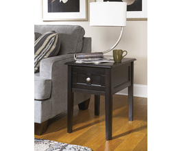 CHAIR SIDE END TABLE HENNING SIGNATURE
