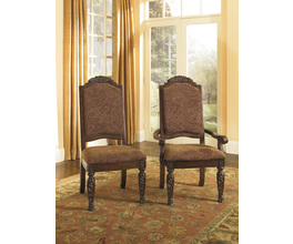 DINING UPH ARM CHAIR (2/CN) NORTH SHORE