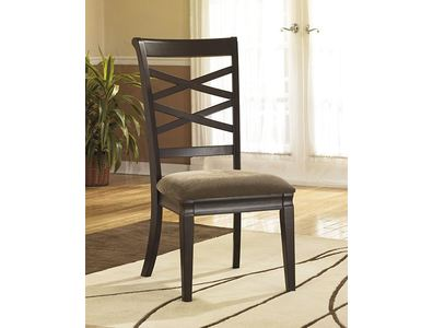 DINING UPH SIDE CHAIR (2/CN) HAYLEY