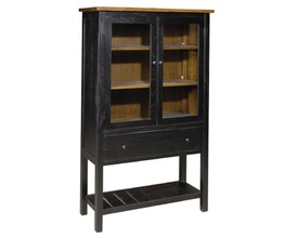 2DR GLASS CABINET