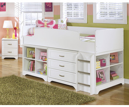 TWIN LOFT BED LULU SIGNATURE
