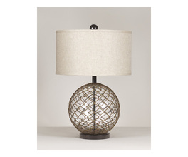 GLASS TABLE LAMP (2/CN) REGINA SIGNATURE