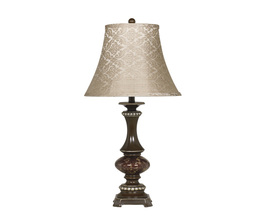 POLY TABLE LAMP (2/CN) ROSEMARY SIGNATURE