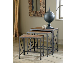NESTING END TABLES (3/CN) VENNILUX SIGNATURE