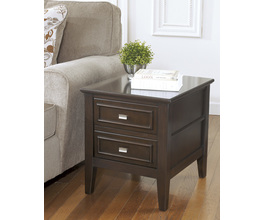 RECTANGULAR END TABLE LARIMER SIGNATURE
