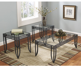 OCCASIONAL TABLE SET (3/CN) EXETER SIGNATURE