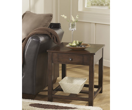 RECTANGULAR END TABLE MARION SIGNATURE