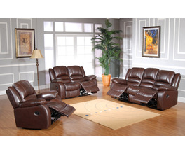RECLINER LOVESEAT LEATHER