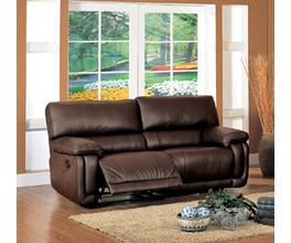 RECLINER SOFA(2SEATS)LEATHER