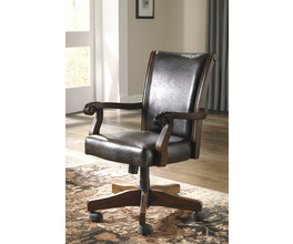 HOME OFFICE SWIVEL DESK CHAIR ALYMERE SIGNATURE