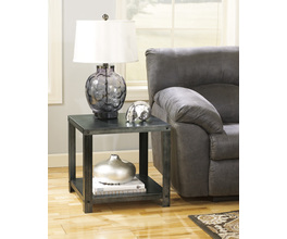 D SQUARE END TABLE HATTNEY SIGNATURE