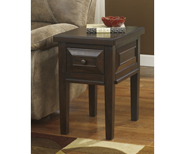 CHAIR SIDE END TABLE HINDELL PARK SIGNATURE