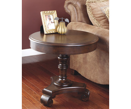 ROUND END TABLE BROOKFIELD SIGNATURE