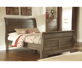 QUEEN SLEIGH HEADBOARD ALLYMORE SIGNATURE