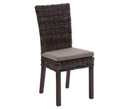 KR RATTAN CHAIR - REQUIRES CUSHION-733 (2/CTN)