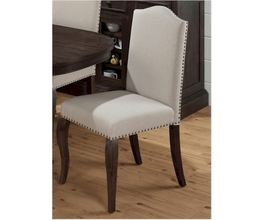 UPHOLSTERED SIDE CHAIR (2/CTN)