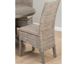 KUBU RATTAN CHAIR - REQUIRES CUSHION-856 (2/CTN)