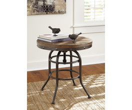 ROUND END TABLE VENNILUX SIGNATURE