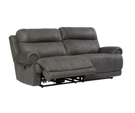 2 SEAT RECLINING POWER SOFA AUSTERE SIGNATURE