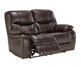 RECLINING POWER LOVESEAT PRANAS SIGNATURE