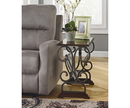 CHAIR SIDE END TABLE BRAUNSEN SIGNATURE