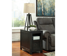 CHAIR SIDE END TABLE GAVELSTON SIGNATURE