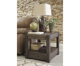 RECTANGULAR END TABLE BURLADEN SIGNATURE