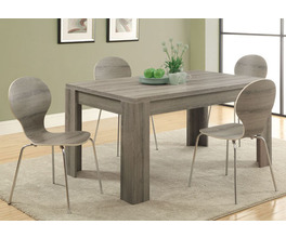 DINING TABLE - 36X 60 / DARK TAUPE