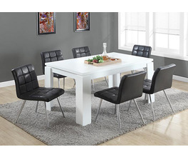 DINING TABLE - 36X 60 / WHITE