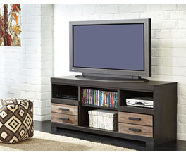 LG TV STAND W/FIREPLACE OPTION HARLINTON SIGNATURE