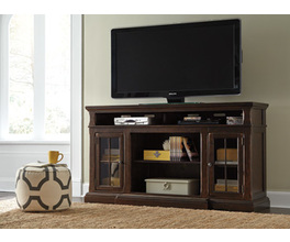 XL TV STAND W/FIREPLACE OPTION RODDINTON SIGNATURE