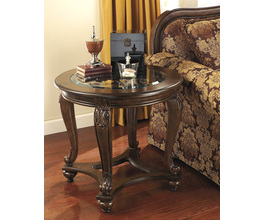 ROUND END TABLE NORCASTLE SIGNATURE