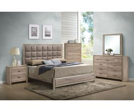 KING OAK HDBD/FTBD WITH SLATS