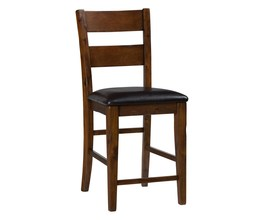 SLATBACK STOLL W/UPH SEAT (2/CTN)