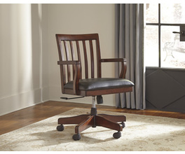 HOME OFFICE SWIVEL DESK CHAIR WASSNER SIGNATURE
