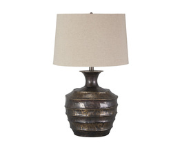 METAL TABLE LAMP (1/CN) KYMANI SIGNATURE