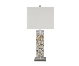 SHELL TABLE LAMP (1/CN) TAHIRA SIGNATURE