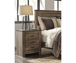 TWO DRAWER NIGHT STAND TRINELL SIGNATURE