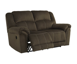 RECLINING POWER LOVESEAT QUINNLYN SIGNATURE