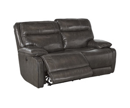 RECLINING POWER LOVESEAT PALLADUM SIGNATURE