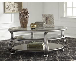 OVAL COCKTAIL TABLE CORALAYNE SIGNATURE