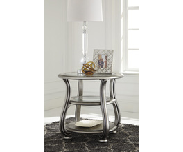 ROUND END TABLE CORALAYNE SIGNATURE