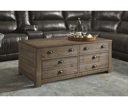 RECTANGULAR LIFT-TOP TABLE KEEBLEN SIGNATURE