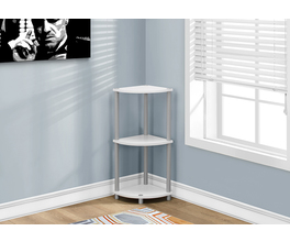 ACCENT TABLE - 30H / WHITE OR BLACK REVERSIBLE
