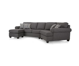 2583 LHF SOFA WITH CHAISE