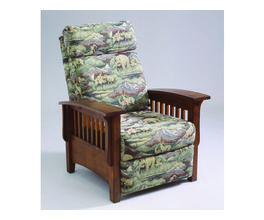 THREE-WAY MISSION RECLINER - TUSCAN