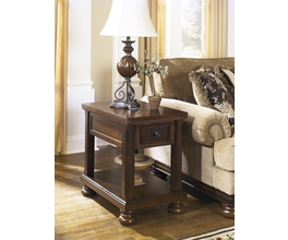 CHAIR SIDE END TABLE PORTER SIGNATURE